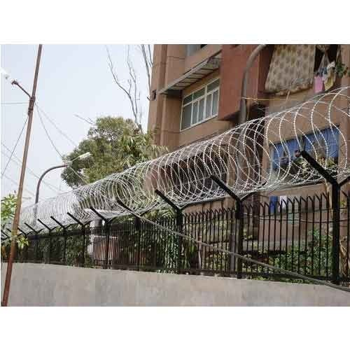 Capital Silver Security Fencing for Industrial
