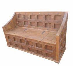 Old Door Sofa (With Storage Box)