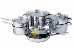 0.4 - 1 mm Encapsulated Stainless Steel Cookware ( Frypan, Saucepan, Kadai And Tope )