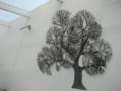 Home Decor Metal Tree Wall