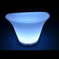 LED Round Ice Bucket