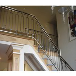 743d18700fd Stainless Steel Railing - Glass Fitting Railing Wholesale Trader ...