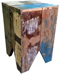 Reclaimed Wooden Furniture Stool