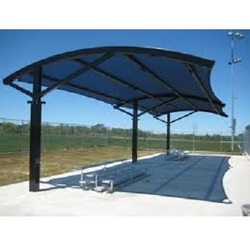 Outdoor shade outdoor shades manufacturer supplier for Steel shade structure design