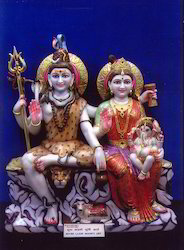 Shiv Parwati Statue