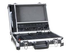 12-Slot Storage and Charger Carry Case