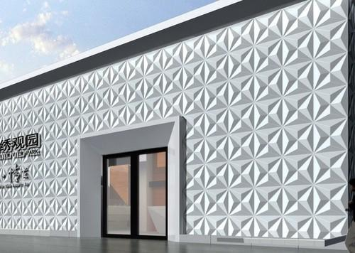 3D Exterior Wall Design 3 Dimensional Wall Panel Three