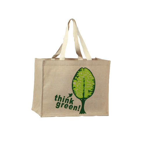 Natural Eco Friendly Print Printed Juco Bags