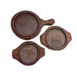 Round Sizzler Plates