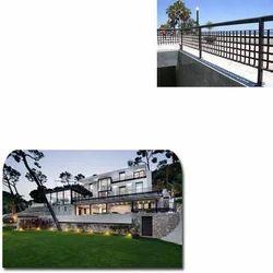 Metal Railings for Villas