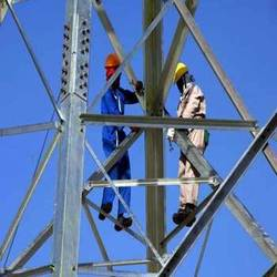 Mobile Tower Erection Work