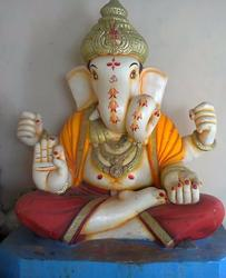 Marble Dagdu Halwai Ganpati Statue