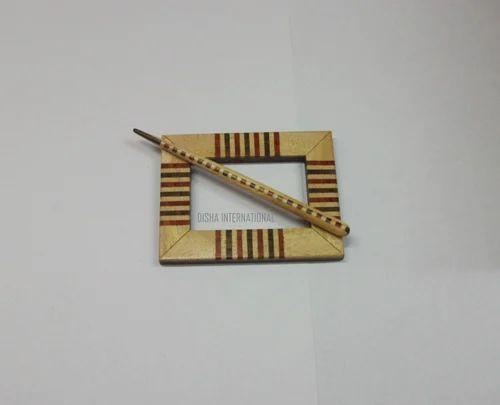Wood Shawl Pins