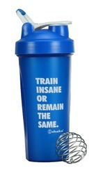 Crossfit Blue Shaker Bottle