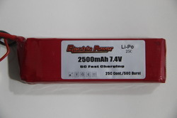 RC Plane Battery 7.4v - 2500 Mah 25c
