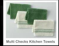 Muklti Checks Kitchen Towel