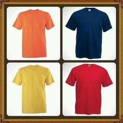 Round Neck T Shirt Importer from New Delhi