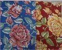 Flower Screen Print Fabric