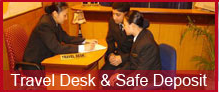 Travel Desk & Safe Deposit