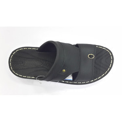 Trendy Men's PU Slippers