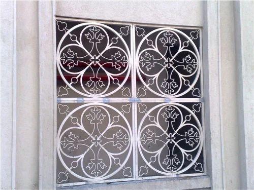 Window Elevation Grill Manu Steel Works Manufacturer In Malad