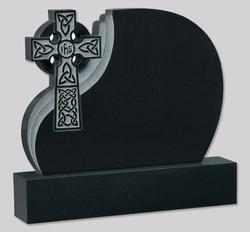 Monument Stone Cross Model