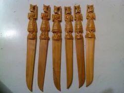 Sandalwood Raja Rani Paper Knife