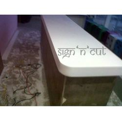 Solid Surface Food Court Counter Tops