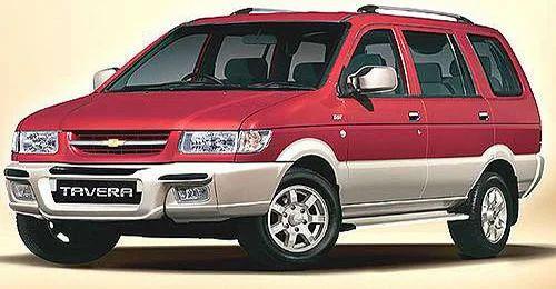 Chevrolet Tavera Luxury Car Rental Great Vision Travels