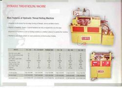 Thread Rolling Machine Hydraulic