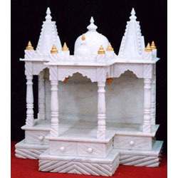 Carved Marble Mandir