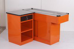 Nirja Creation As Per Requirement Cash Counter Table Rs 26500