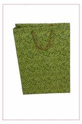 100 Gram Printed Handmade Paper Bags, For Shopping, Capacity: 3 kg