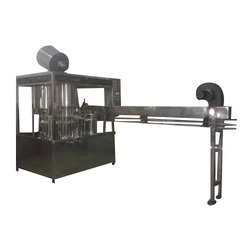 Rinsing Capping Machine
