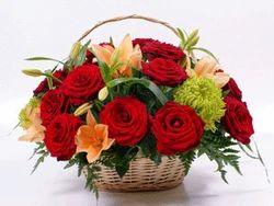 Basil Flower Baskets