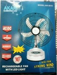 Rechargeable Fan Table Fan