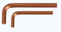 Taparia Allen Keys(mm Sizes) Brown Finish