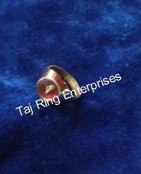 Asht Dhatu Shankh Ring