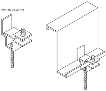 Profab Standard SS Purlin Bracket, Profab Engineers Private Limited