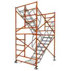 Scaffolding Stair