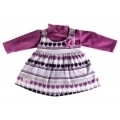 Little Kangaroos Baby Girl Sweater Jacquard Dress Set