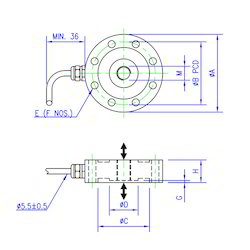 Load Cell Shear Web Universal