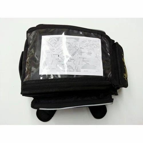 Motorcycle Magnetic Tank Bag Motorbike With Map Gps Ph Window Pockets Strap UK
