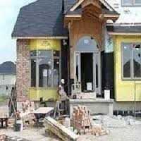 Concrete Frame Structures Residential Projects Bungalow Construction Service, Supplier End, Local Area
