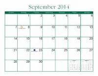 Spiritual Calendar