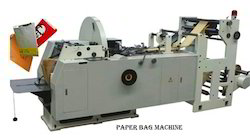 Multi Color Paper Bags Making Machine