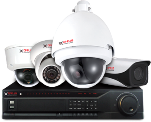Complete Combo Pack Of 8 Channel Cp Plus Cctv System At Rs