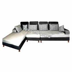 Imported Corner Sofa Set - Fabric