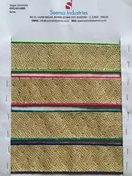Multicolor Designer Borders Laces, Use: Blouses & Tops