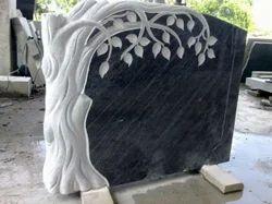 Flower Was Granite Stone
